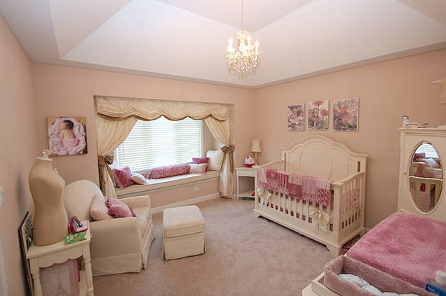 a sweet vintage nursery for project nursery on Elle Decor Nursery id=73876