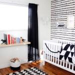Finn S Black And White Woodland Nursery Project Nursery