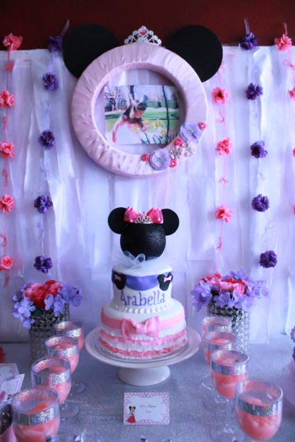 Arabella S Princess Minnie Mouse Birthday Party Project