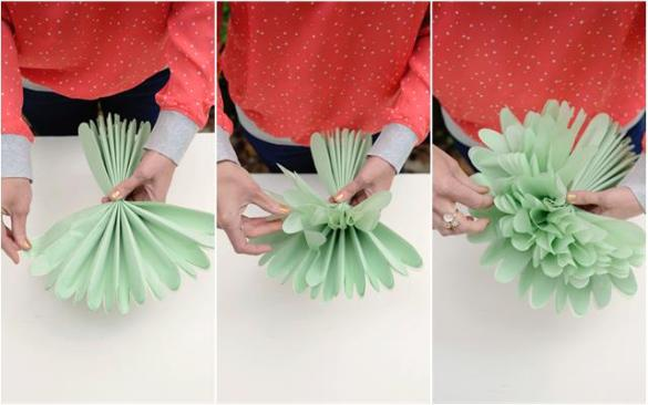 DIY  Tissue Paper Flowers   Project Nursery