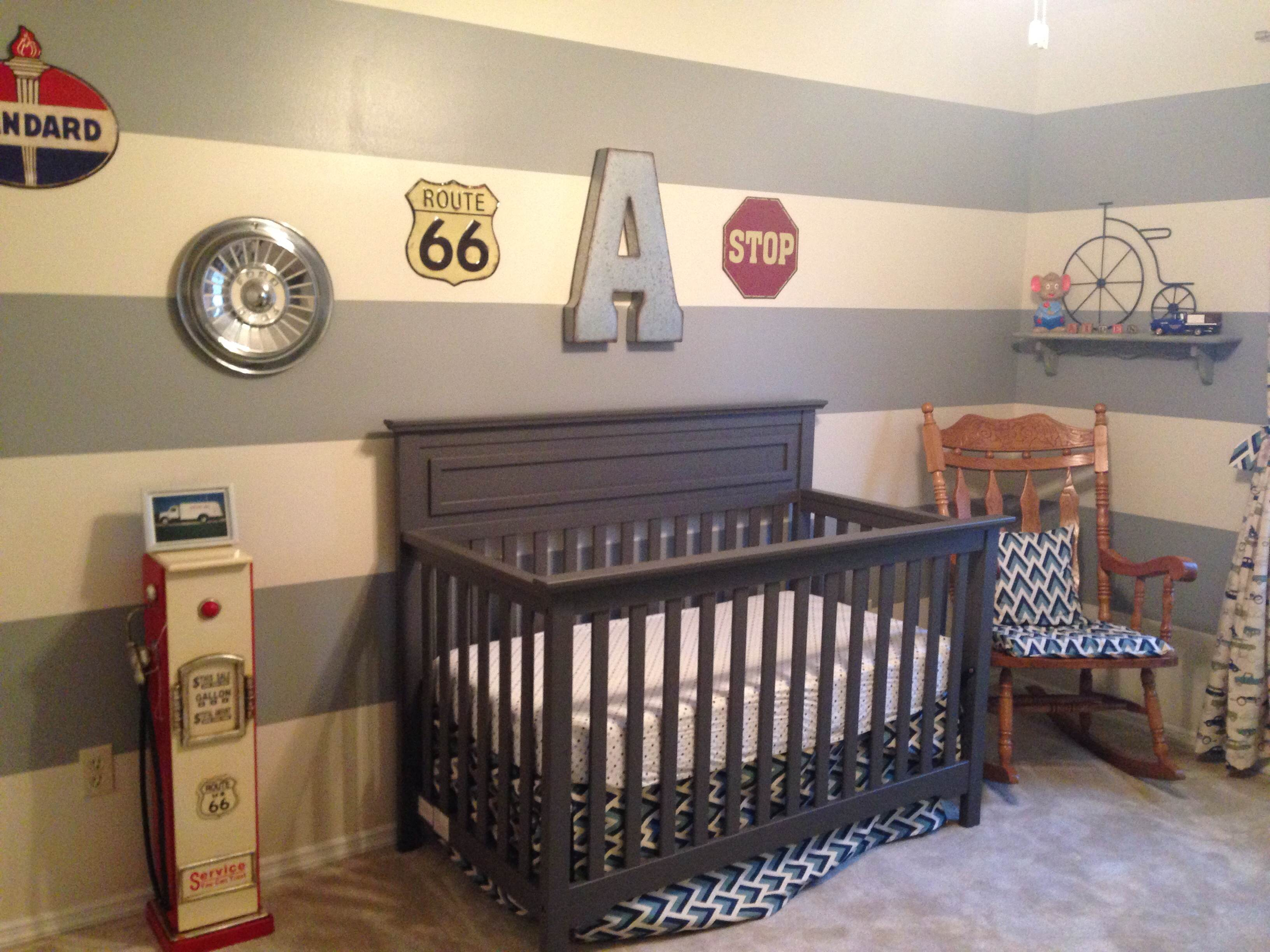 Vintage Car Themed Nursery