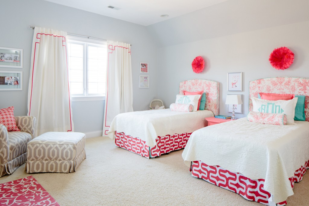Anna Drake S Toddler Room Upholstered Twin Headboards Project Nursery