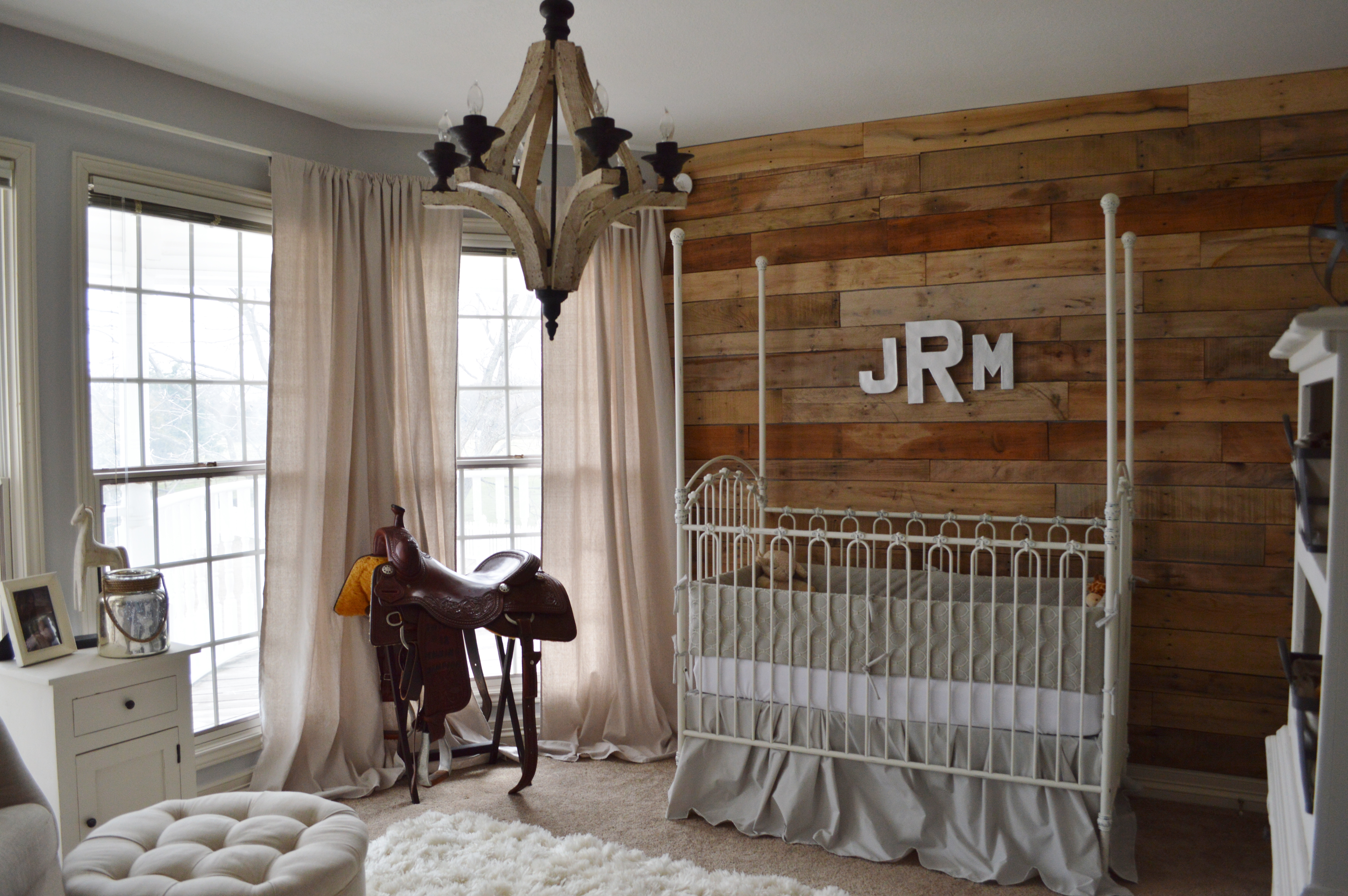 Jaxons Neutral Vintage Cowboy Nursery Project Nursery