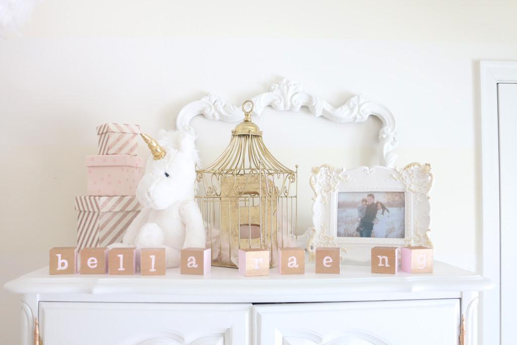 White And Gold Dreamland Nursery Project Nursery