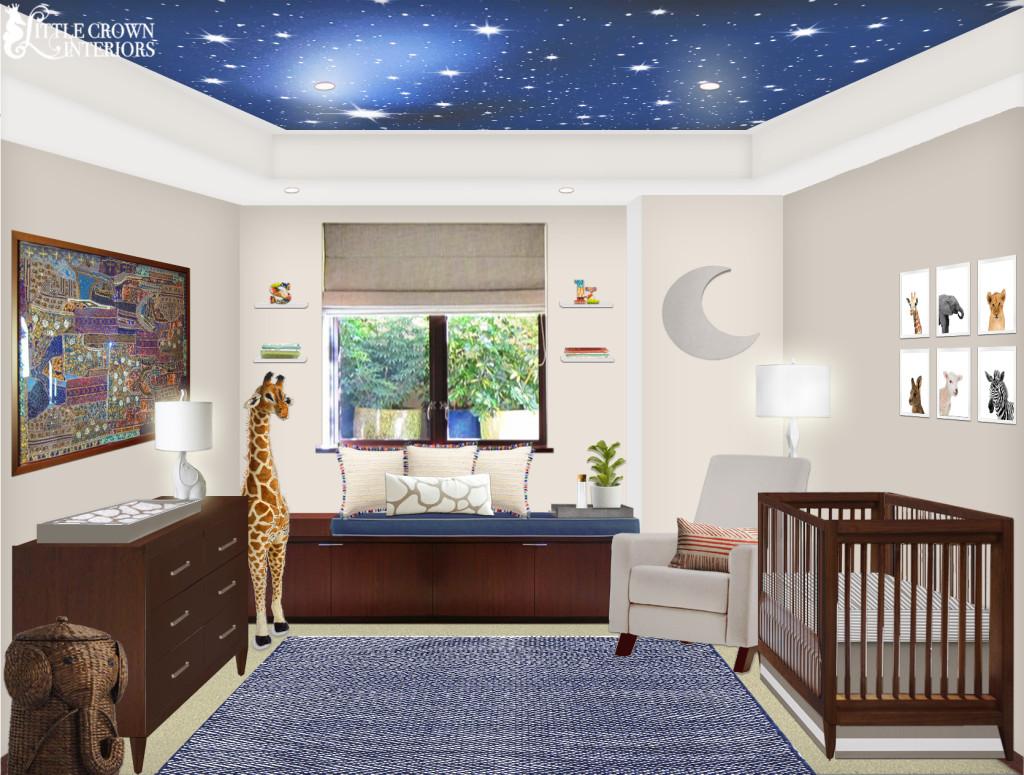 Night Sky Nursery Project Nursery