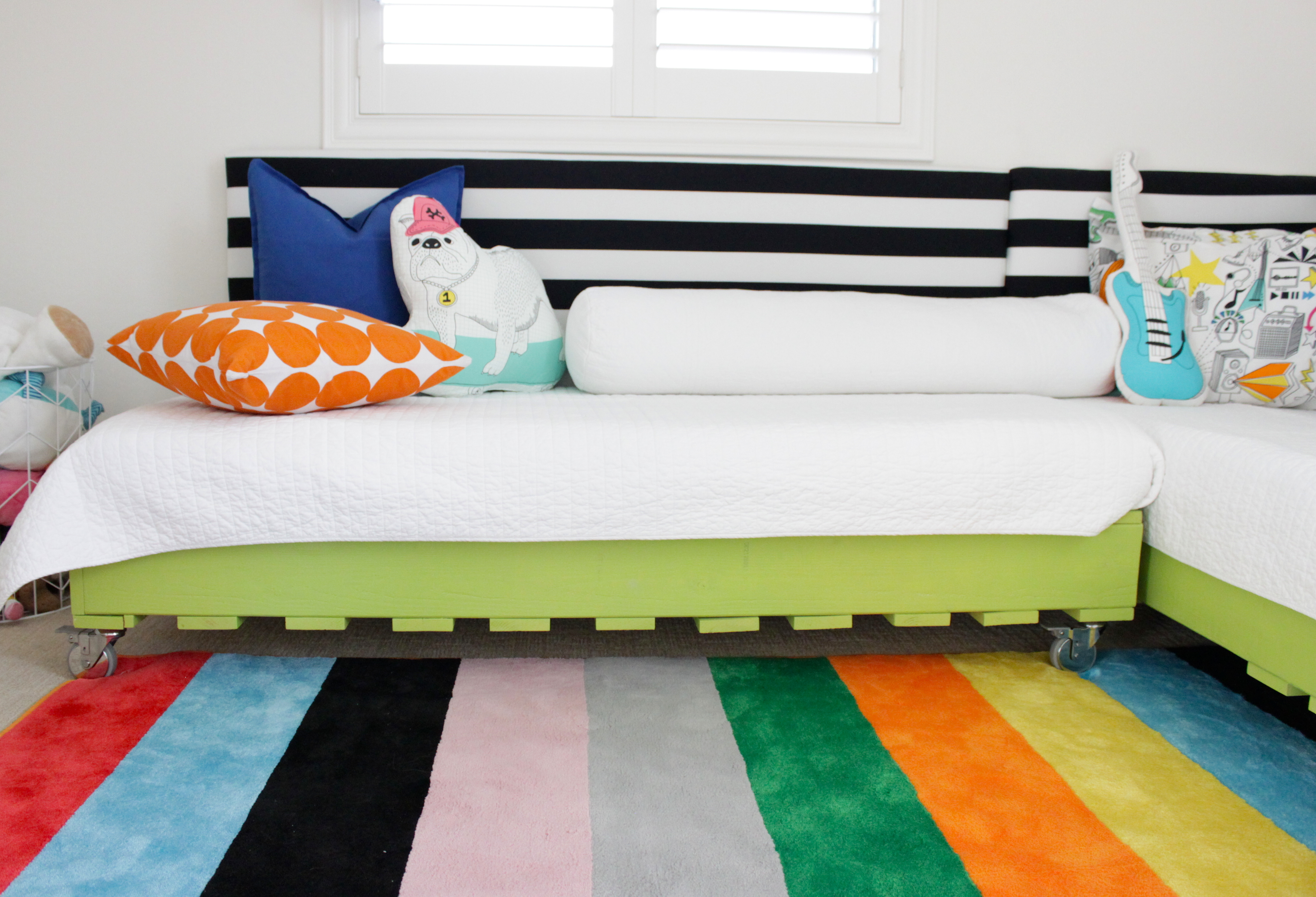 DIY Pallet Bed Mini Makeover - Project Nursery on Pallet Bed Room  id=68451