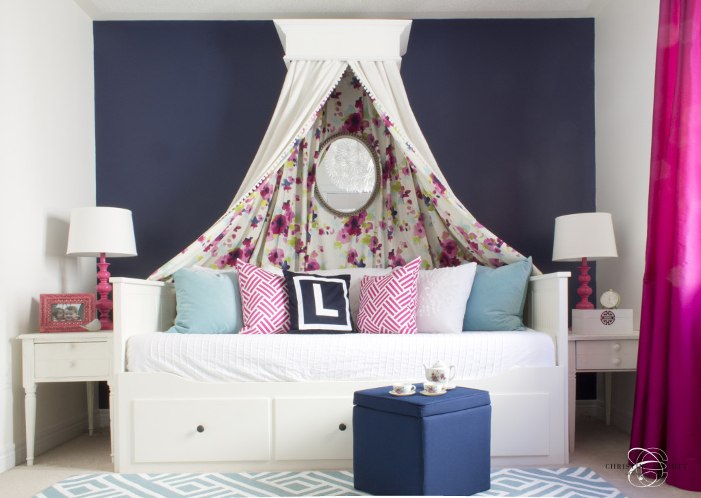Tea Party Chic - Girl's Bedroom - Project Nursery on Decorations For Girls Room  id=90465