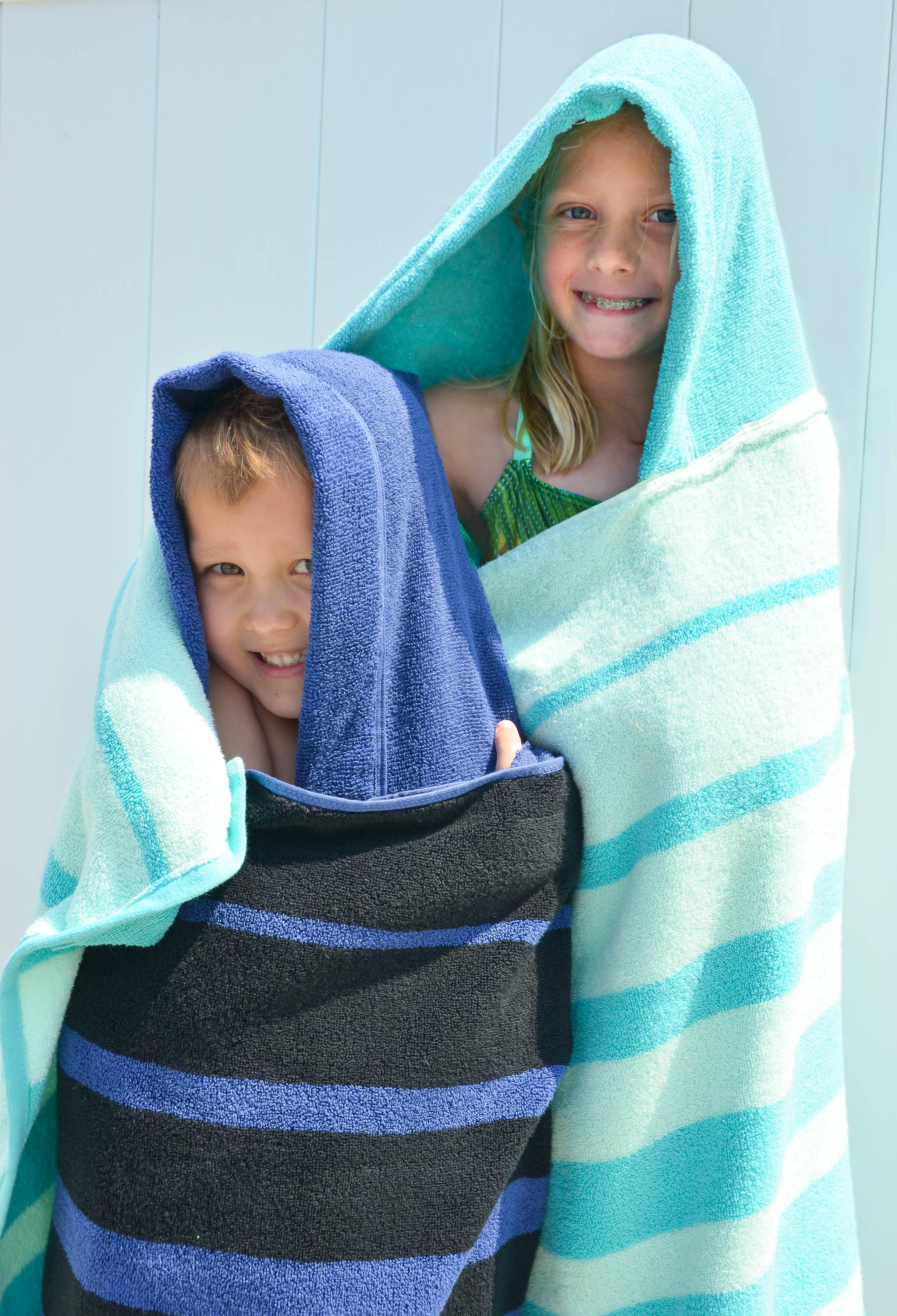 A DIY Hooded Towel That Your Kiddo Wont Immediately