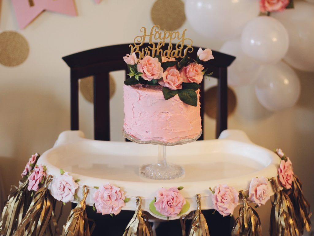Arias Pink And Gold First Birthday Party Project Nursery