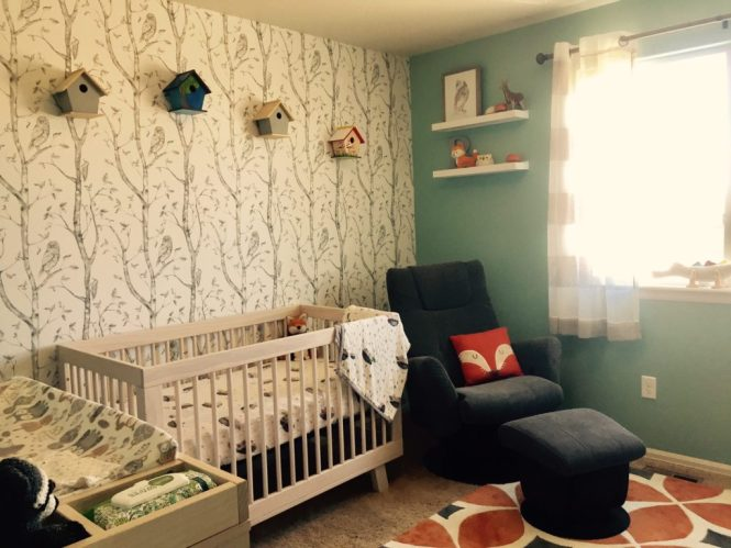 Woodland Gender Neutral Nursery