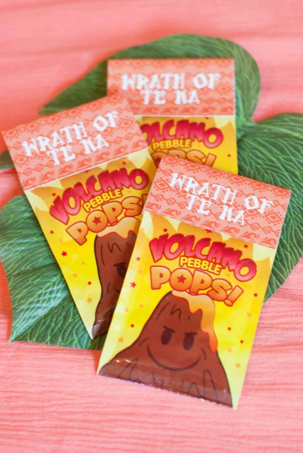 Volcano Candy Moana Birthday Party Ideas - Project Nursery