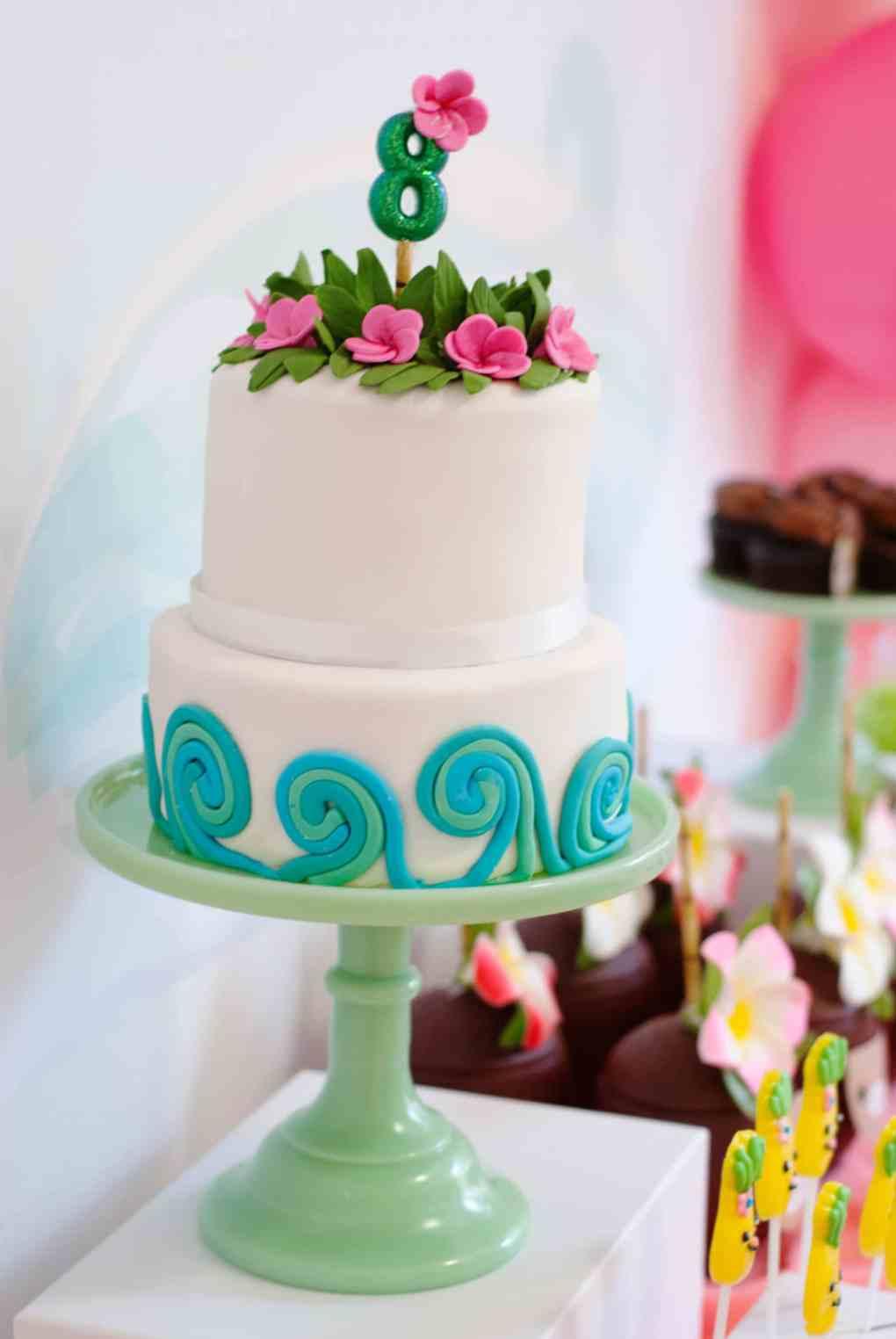 Moana Birthday Party Ideas Cake - Project Nursery
