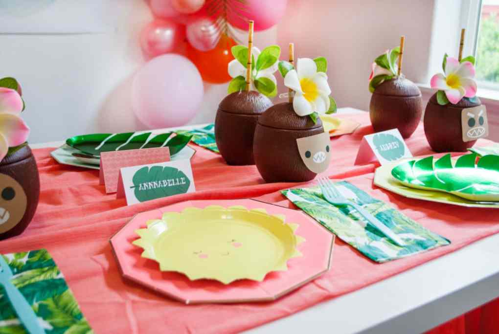 Moana Birthday Party Ideas - Project Nursery