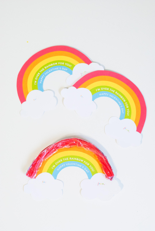 Mesmerizing Printable Rainbow