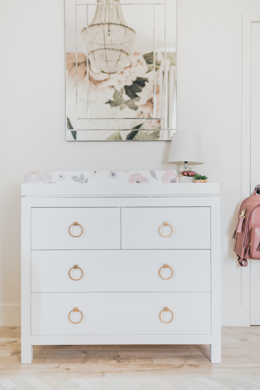 Floral Nursery Design by Little Crown Interiors