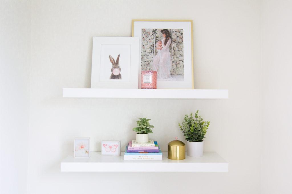Nursery Wall Shelves