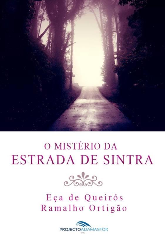 O Mistério da Estrada Sintra - Capa