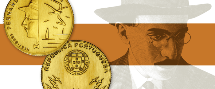 INCM lança moeda dedicada a Fernando Pessoa