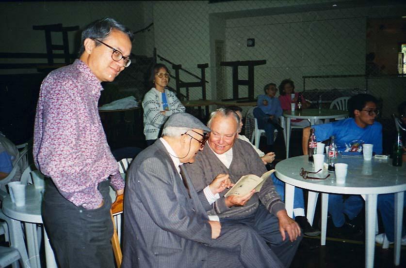 Encontro com os mestres Padre Marta e Padre Mendes