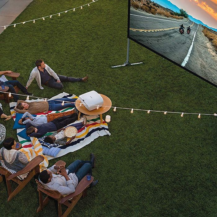projector for backyard