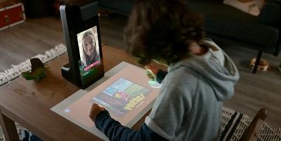 Amazon interactive projector