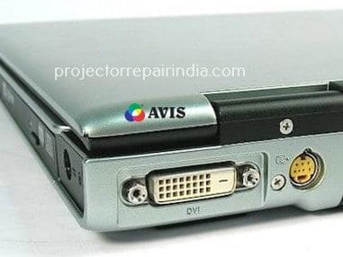 DVI Video input port