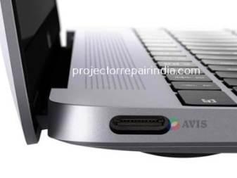 Macbook USB-C video input port