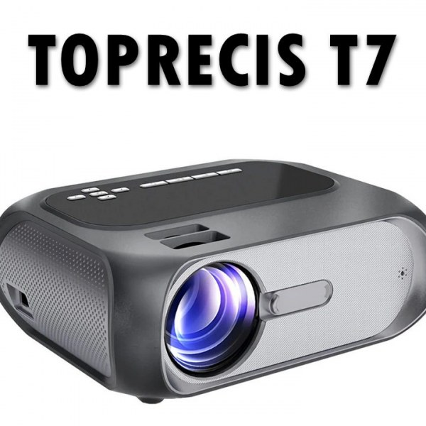 Toprecis T7 LED Projector
