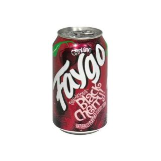 Faygo Black Cherry Cans 355ml - American Drink in Germany
