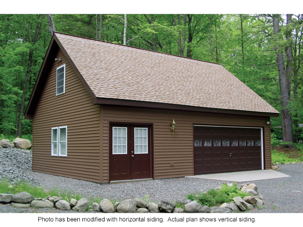 Whitney Hill Workshop Garage Plan 002D-6002