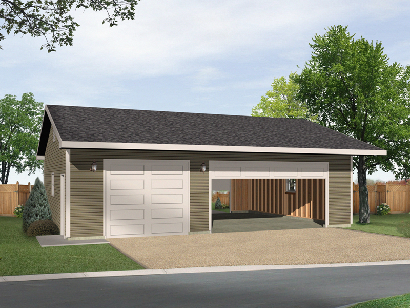 Alice Three-Car Garage Plan 059D-6040