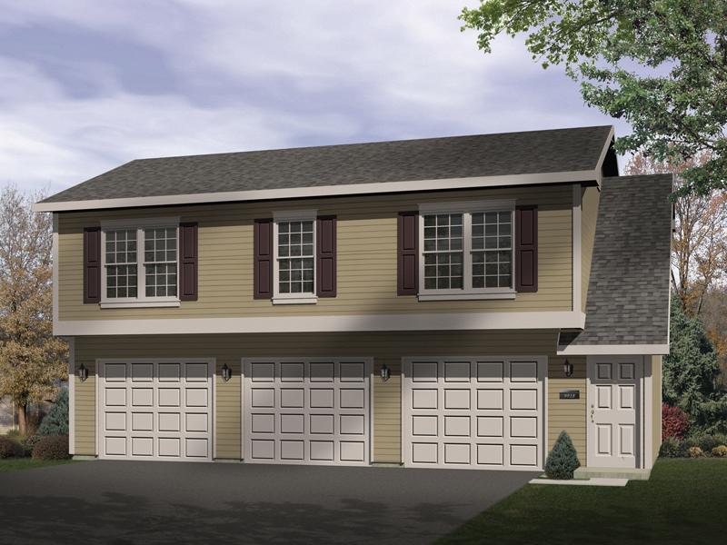 Leticia Garage Apartment Plan 059D-7506