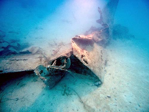 avenger wreckage at palau found by bentprop