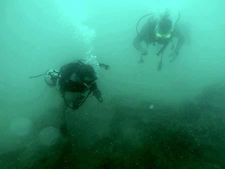 murky dives in palau with bentprop