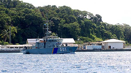 palau navy vessel