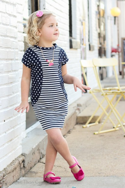 Aubrey Dress Pattern by ModKid for Project Run & Play Shop