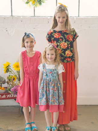 Girl Mini Capsule Wardrobe from the Farmer's Market Collection