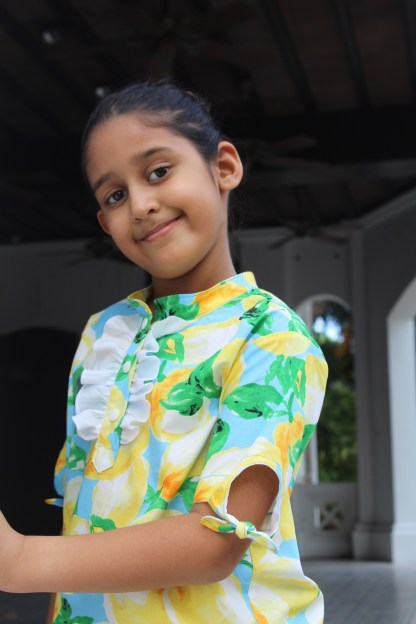 Rosemary & Thyme Shirts, Project Run & Play exclusive pattern
