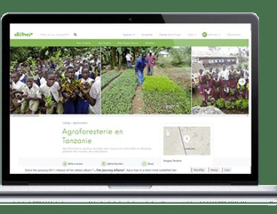 plateforme projet reforestation