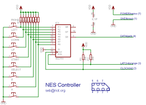 NES Controller on the Raspberry Pi | Gordons Projects