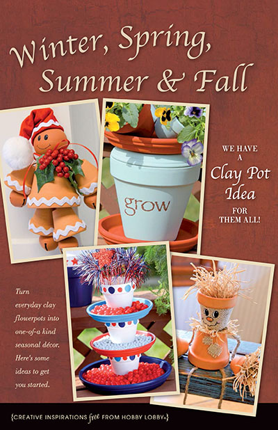 HobbyLobby Projects Winter Spring Summer Amp Fall