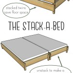 More Like Home The Stack A Bed Converts From Twin To King