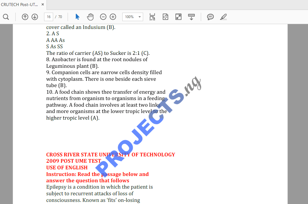 English Questions And Answers Pdf