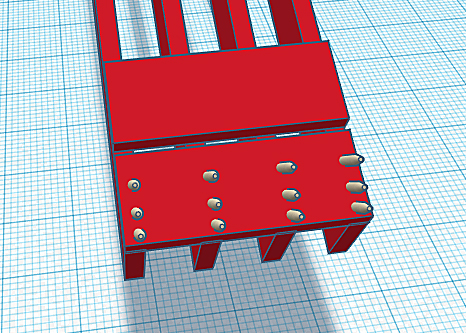 How to fasten deck boards to the step ramp joists using screws