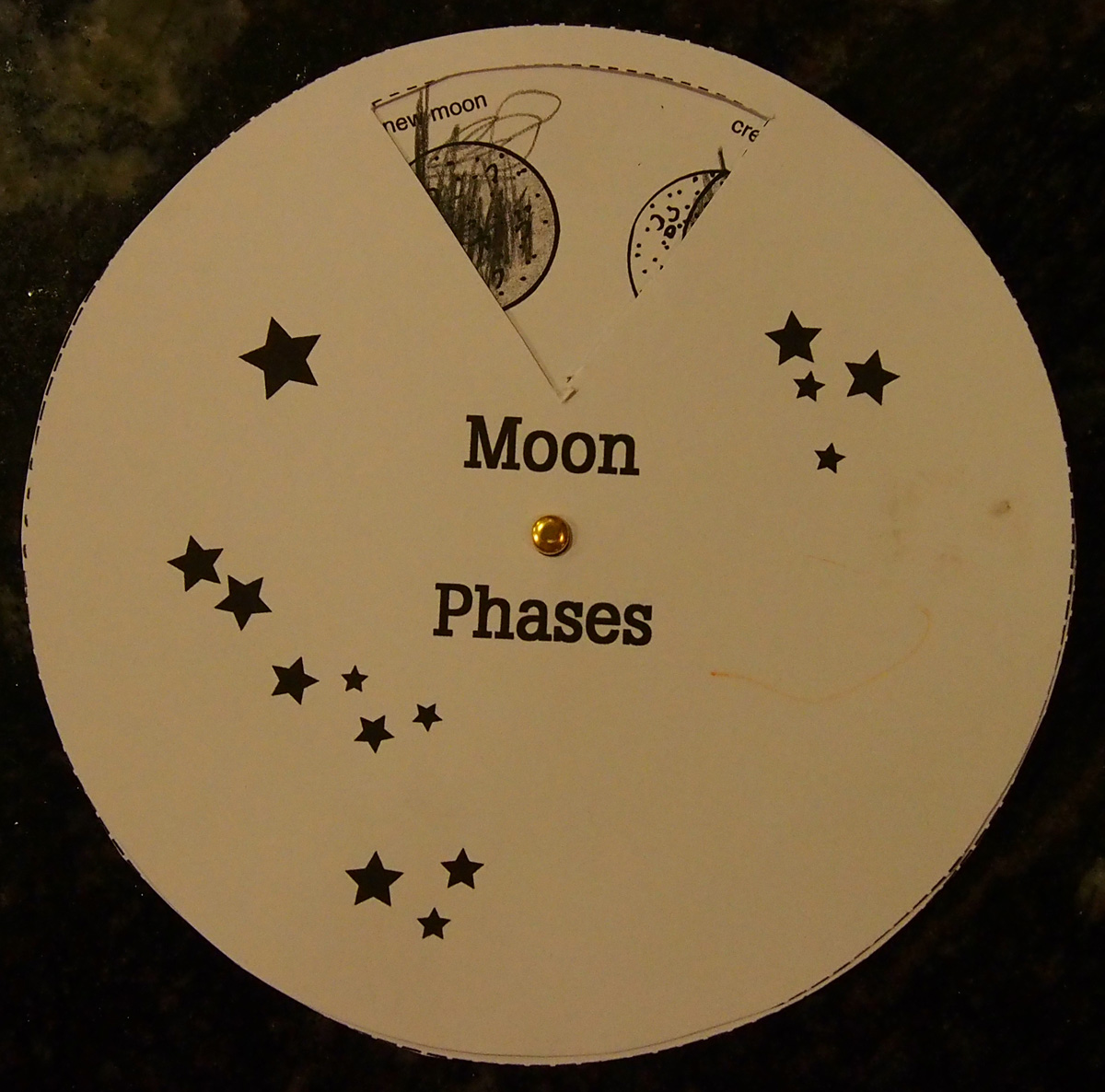 Moon Phases Phases Of The Moon Worksheet