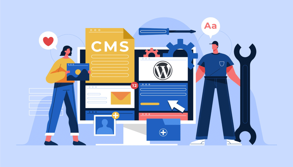 CMS Market Share in 2021 Globally
