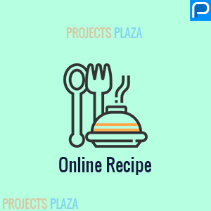 Recipe website script in php