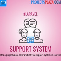 free support system in laravel