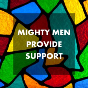 Mighty Men Provide Lifeline of Support