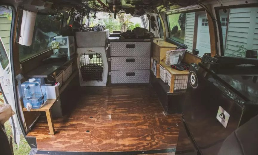 the bird hunting van